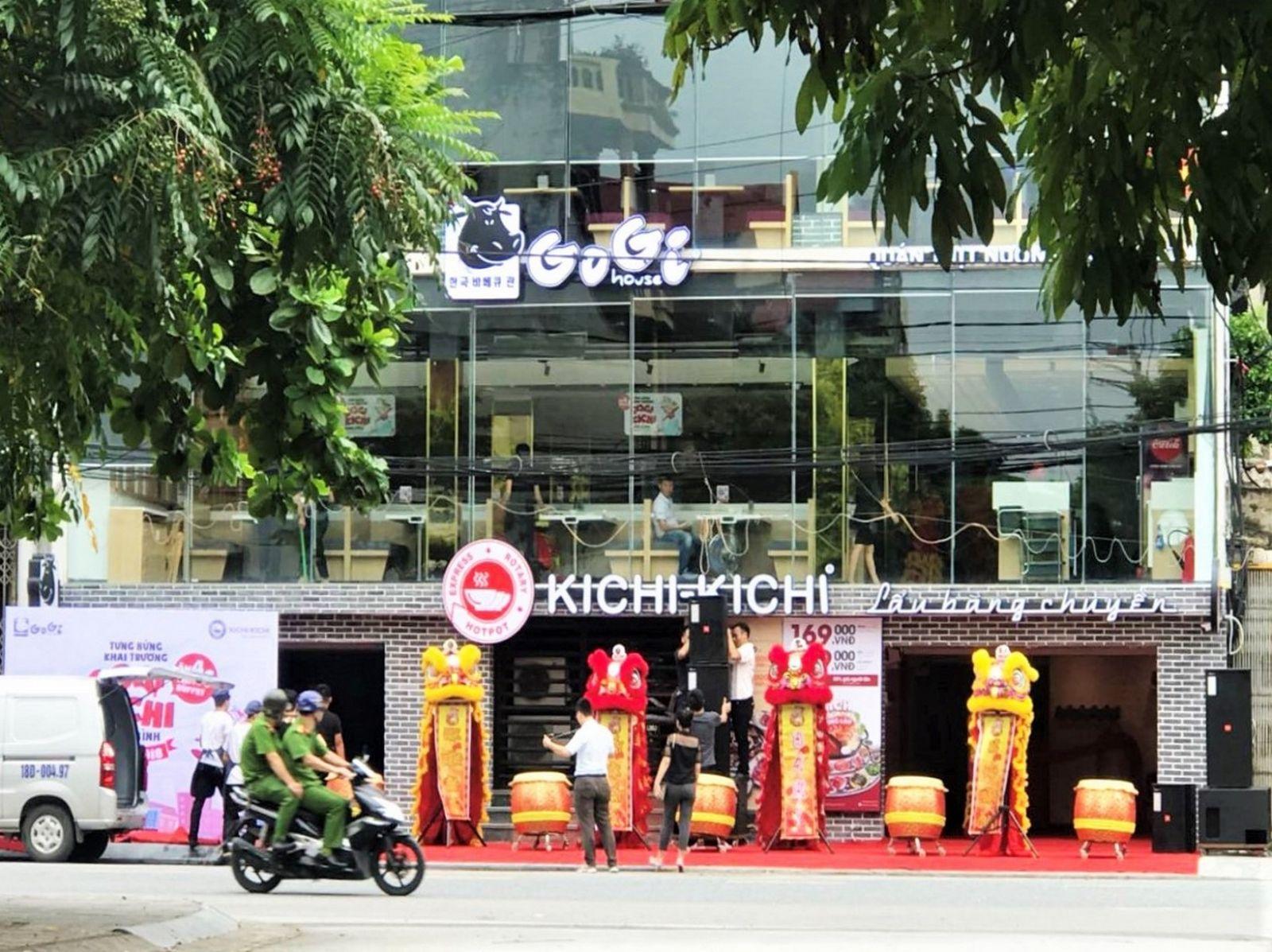 Công trình cụm nhà hàng Gogi House và Kichi Kichi Ninh Bình