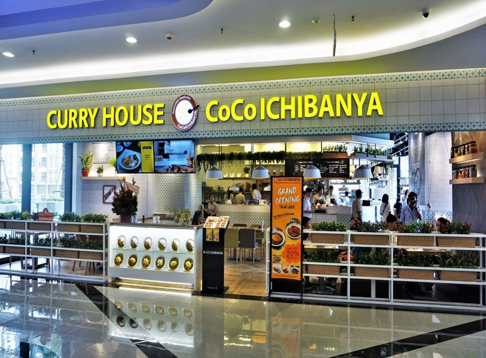 Project Coco Ichibanya restaurant - Landmark 81