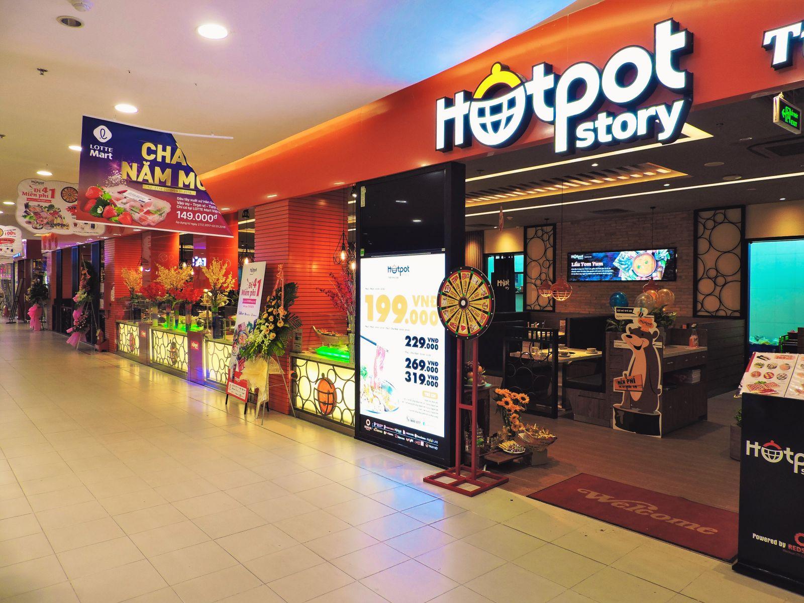 Công trình nhà hàng Hotpot Story - Lotte Mart quận 7