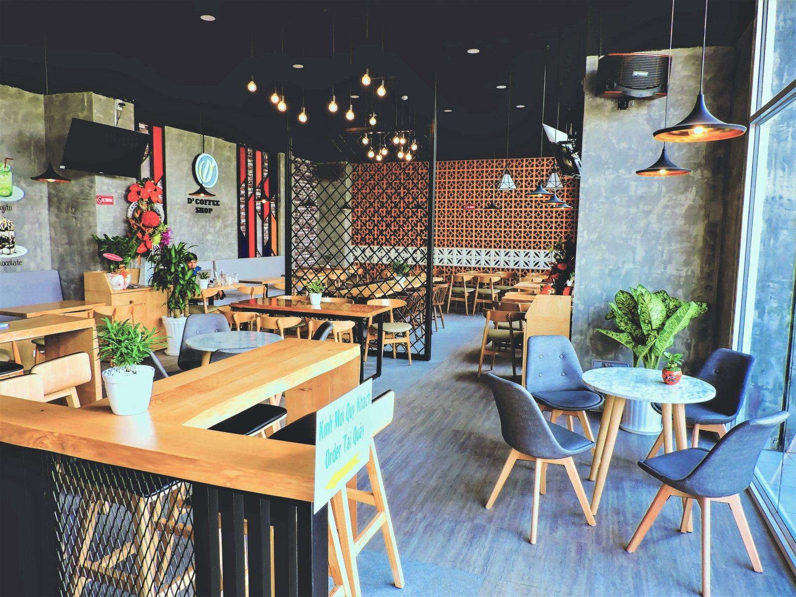 Công trình tiệm cà phê D' Coffee Shop - Quận 8