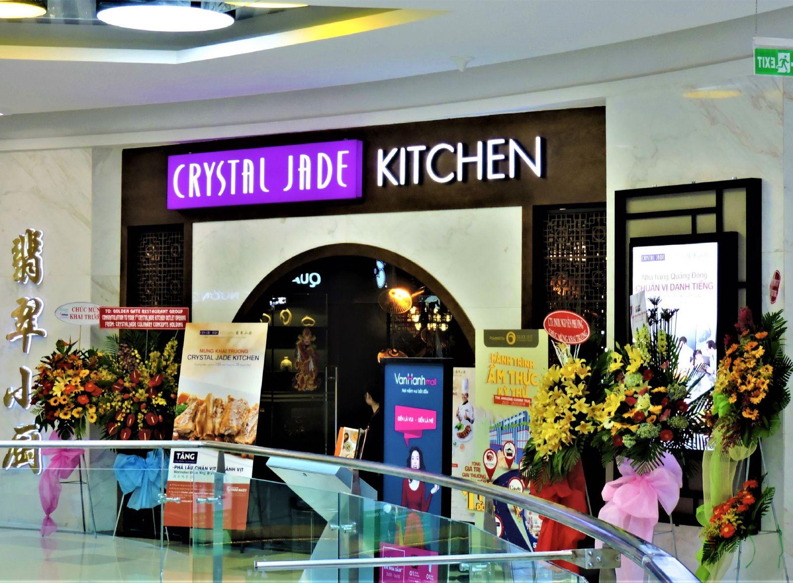Công trình nhà hàng Trung Hoa Crystal Jade Kitchen - Vạn Hạnh Mall