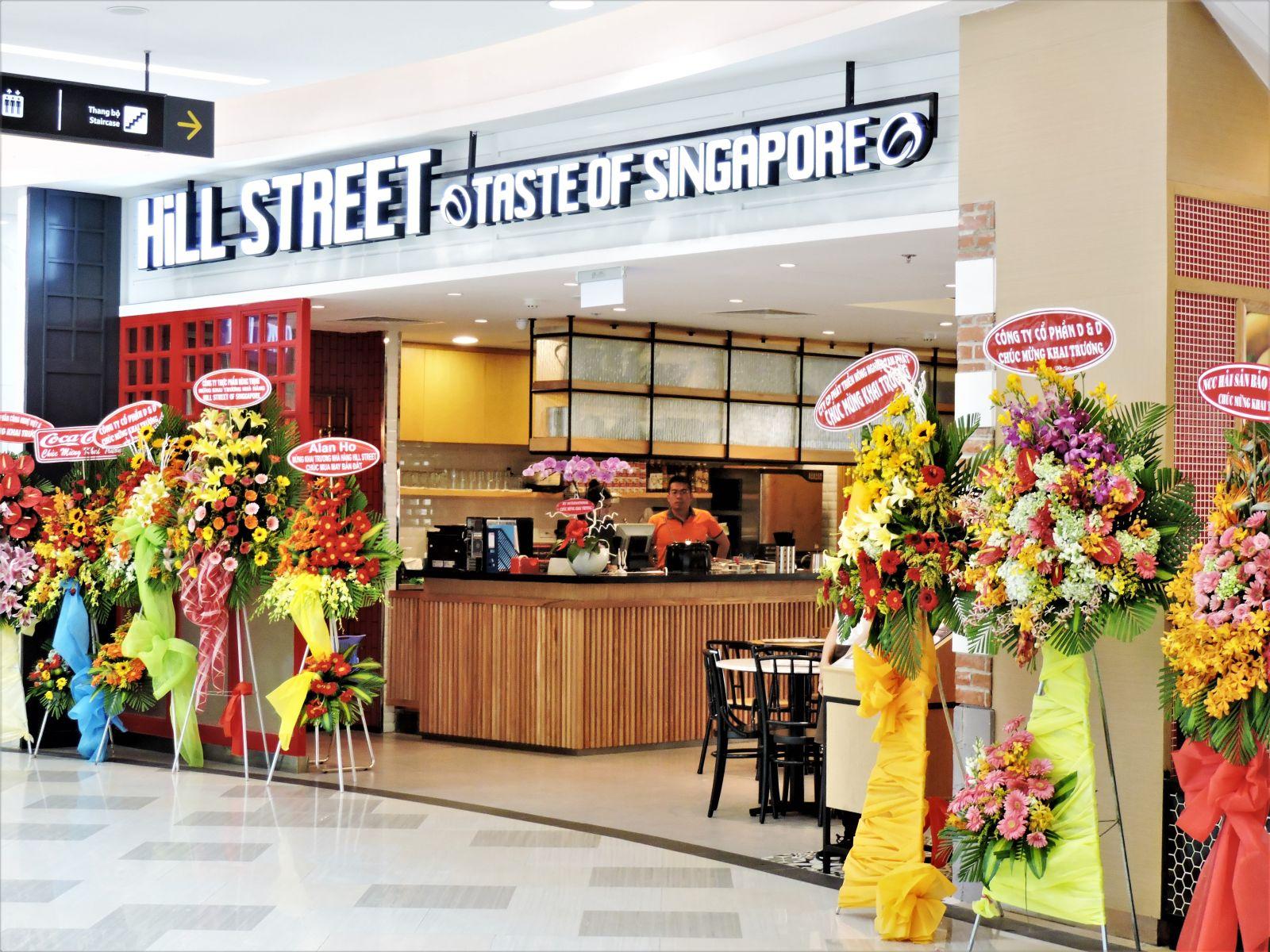 Công trình nhà hàng Hill Street Singapopre - Vạn Hạnh Mall