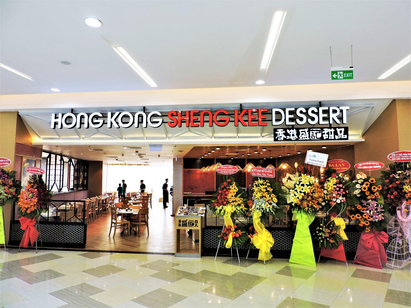 Công trình nhà hàng Hong Kong Shengkee
