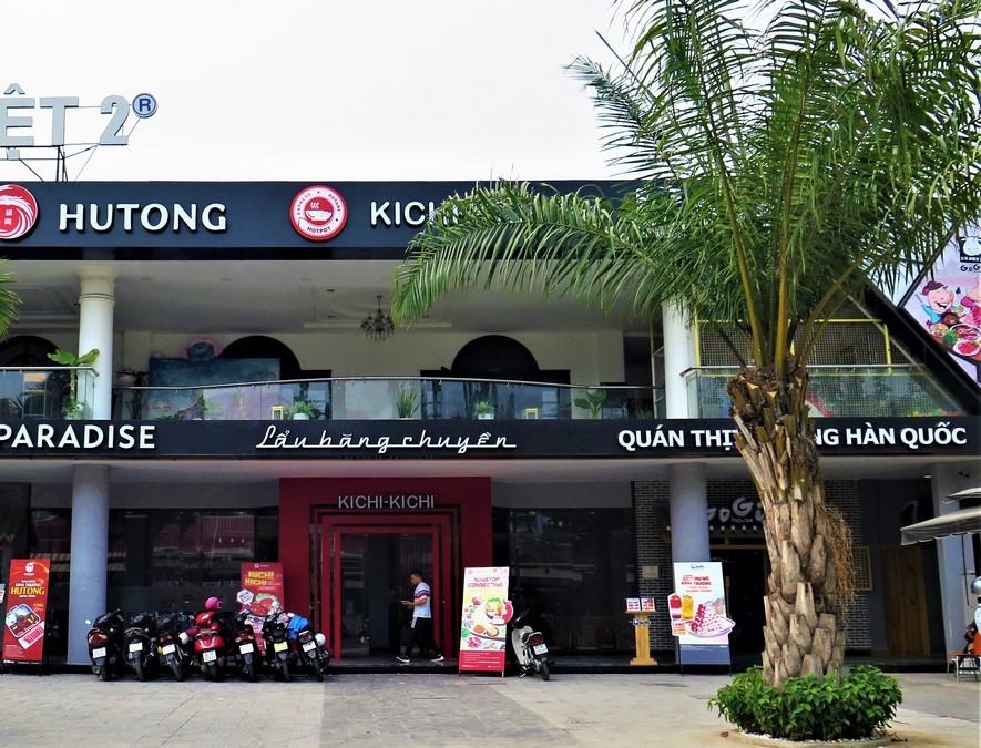 Công trình nhà hàng Lẩu băng chuyền Kichi Kichi Quang Trung