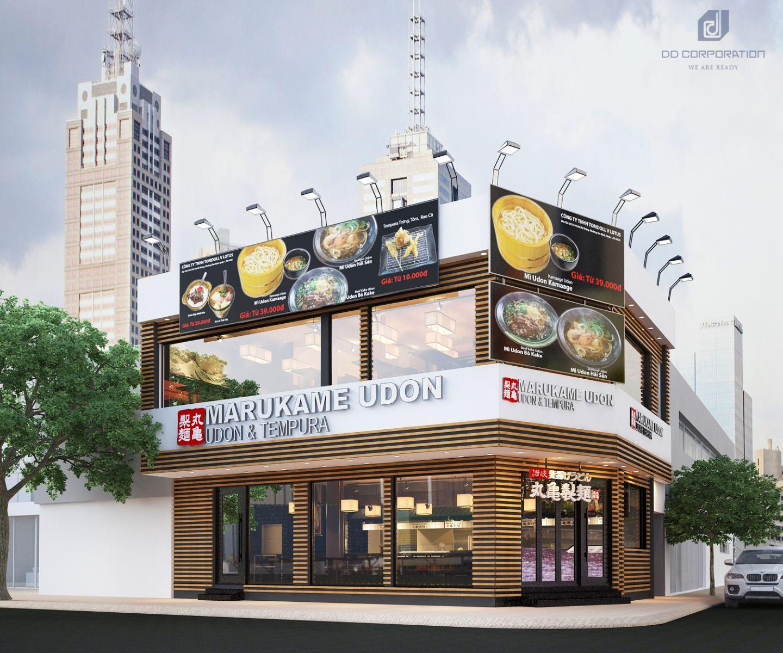Thiết kế thi công nội thất nhà hàng đẹp tại Quận 1TPHCM