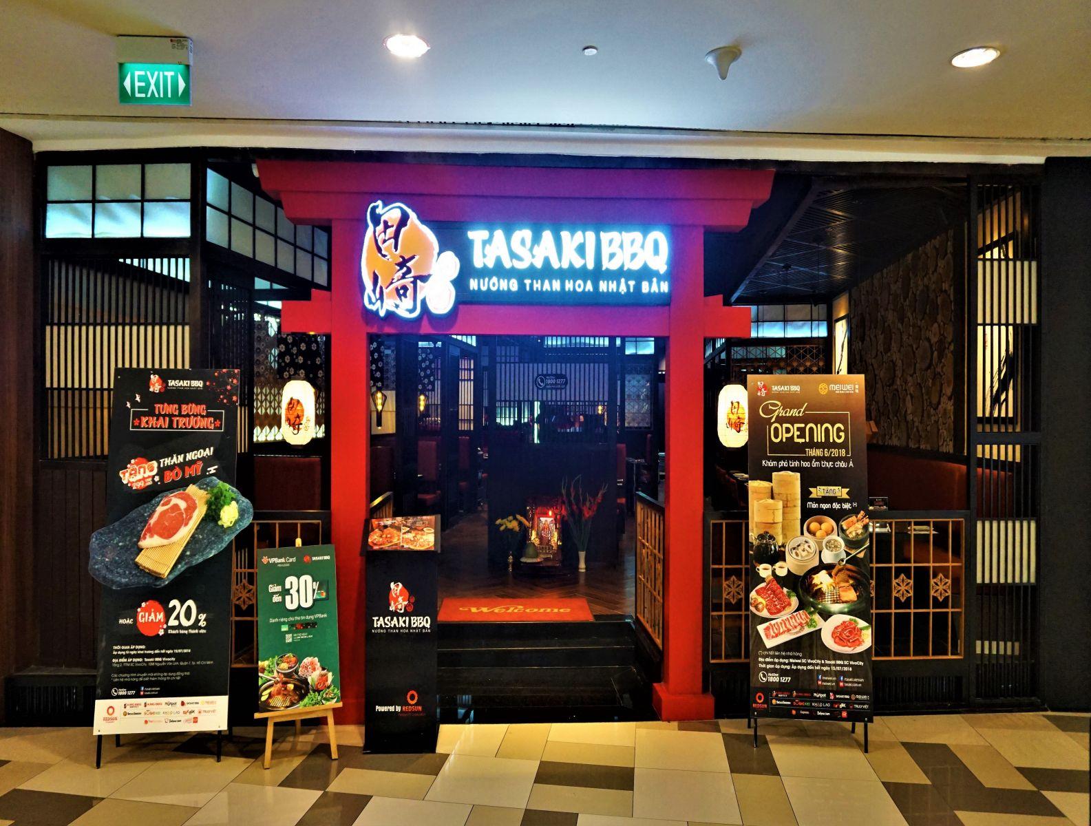 Công trình nhà hàng Tasaki BBQ - SC VivoCity Mall