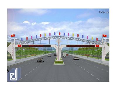 Cổng chào huyện đảo Phú Quốc