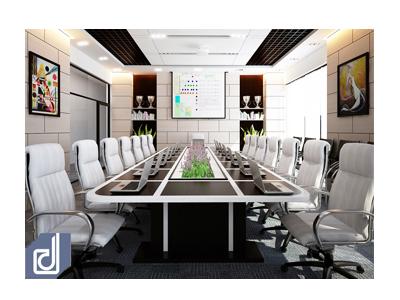 Thiết kế nội thất phòng họp GreenViet