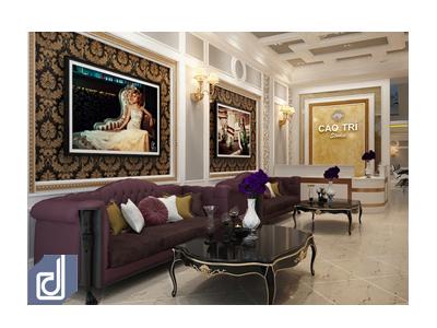 Thiết kế nội thất studio Cao Trí
