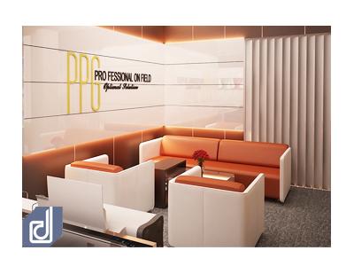 Thiết kế nội thất văn phòng Công ty Professional PG