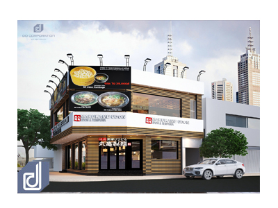 Interior designing and constructing for beautiful restaurant in District 1 - HCMC