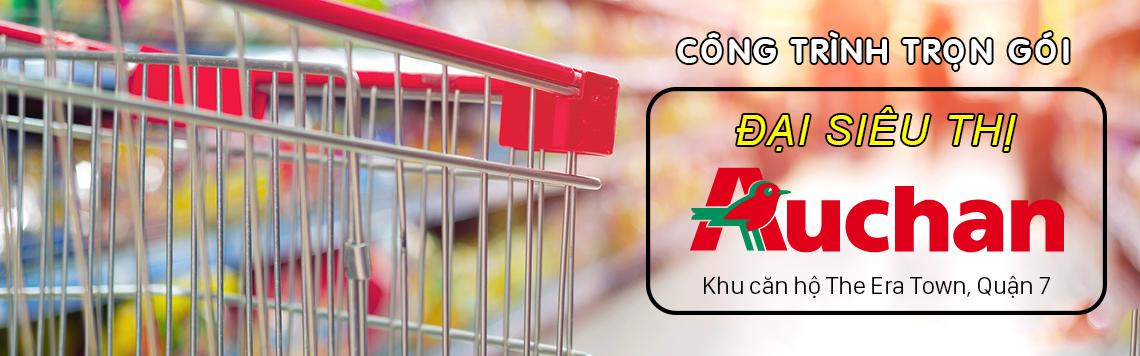Công trình đại siêu thị Auchan