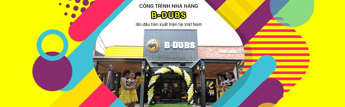 Công trình nhà hàng BDUBS
