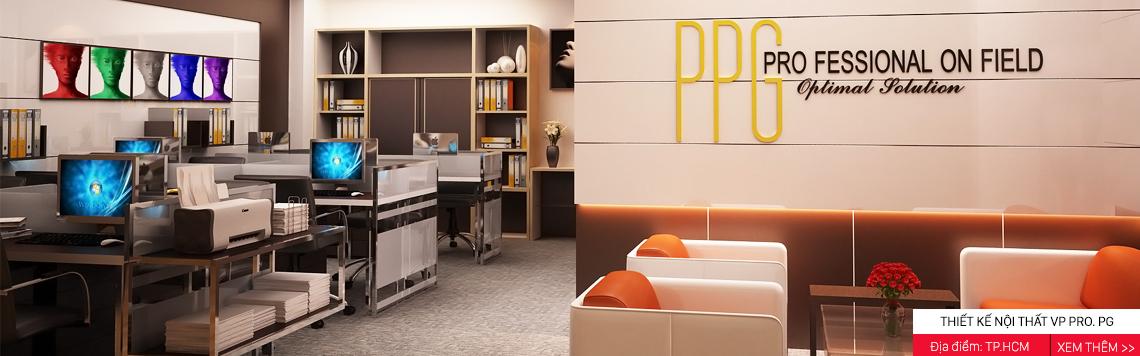 Thiết kế nội thất văn phòng Professional PG