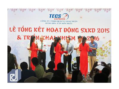 Sự kiện Lễ tổng kết hoạt động SXKD 2015 và triển khai kế hoạch 2016 Công ty TECS