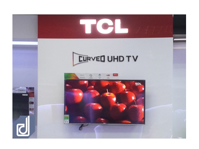 Interior design and construction for TCL booth at Nguyen Kim Electronics Shopping Center – Binh Duong