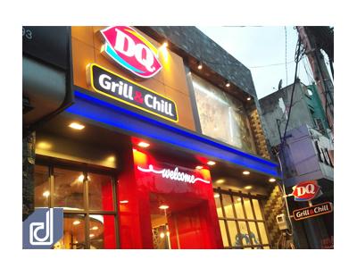Công trình nhà hàng Dairy Queen Grill & Chill Nguyễn Ảnh Thủ