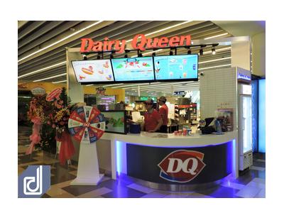 Công trình cửa hàng Dairy Queen - Vivo City