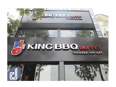 Công trình nhà hàng King BBQ Song Hành