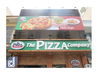 Công trình nhà hàng The Pizza Company - Hậu Giang