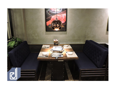 Công trình nhà hàng King BBQ Alacarte - Hồ Tùng Mậu