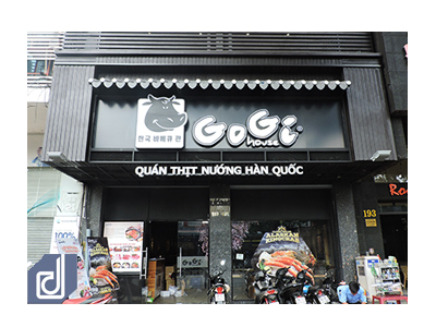 Công trình nhà hàng GoGi House - Nguyễn Thái Học