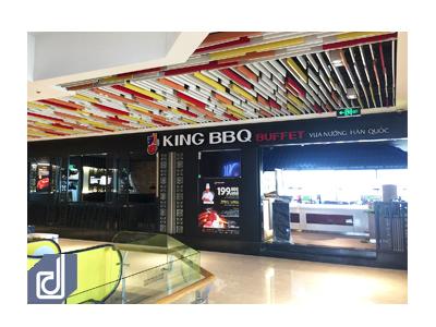Công trình nhà hàng King BBQ - Pearl Plaza
