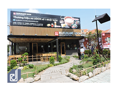 Công trình nhà hàng Marukame Udon Thảo Điền