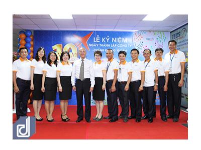 Lễ kỷ niệm 10 năm Công ty TNHH Dịch Vụ Giao Nhận Hàng Hóa Tân Sơn Nhất (TECS)