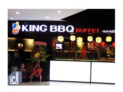 Công trình nhà hàng King BBQ - Sense City Cà Mau