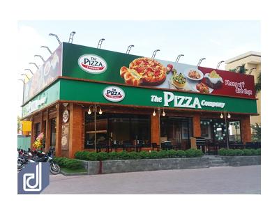 Công trình nhà hàng The Pizza Company - Biên Hòa