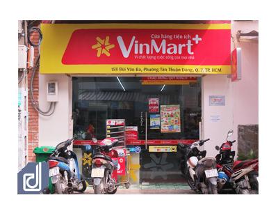 Dự án Thi công nội thất Cửa hàng tiện lợi VinMart+ Bùi Văn Ba