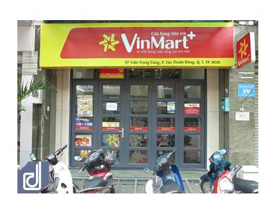 Dự án Thi công nội thất Cửa hàng tiện lợi VinMart+ Trần Trọng Cung