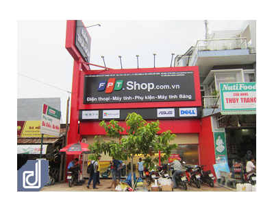 Design interior and construction of FPT Shop Tay Ninh