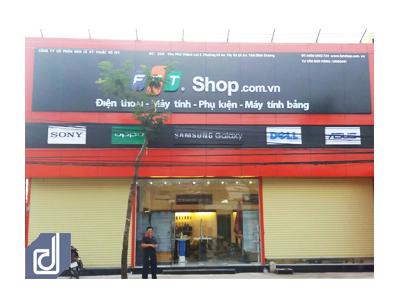 Công trình Cửa hàng công nghệ FPT Shop Dĩ An