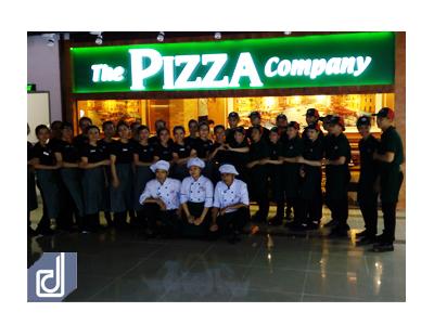 Công trình nhà hàng The Pizza Company - Cà Mau
