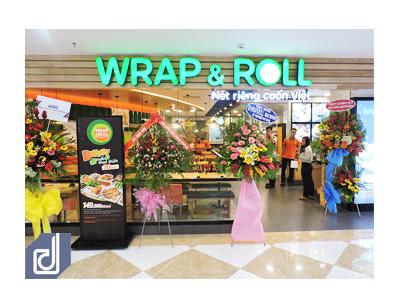 Công trình nhà hàng Wrap & Roll - Vincom Thủ Đức