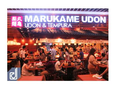 Công trình Thi công nội thất nhà hàng Marukame Udon - Aeon Mall Bình Tân