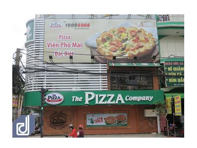 Công trình Thi công nội thất nhà hàng The Pizza Company Bàu Cát