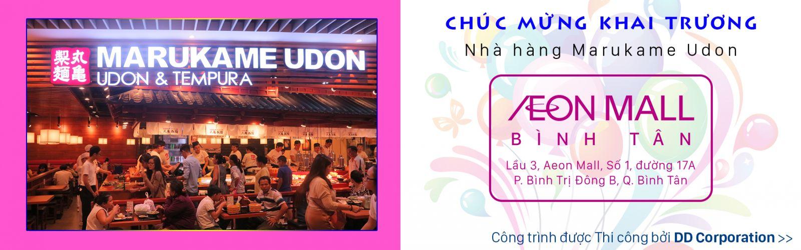 Nhà hàng Marukame Udon Hai Bà Trưng - Tân định