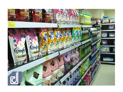 Interior consulting - designing - building professional services for mini supermarket