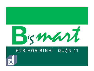 Interior design and construction project of B's Mart Hoa Binh convenience store