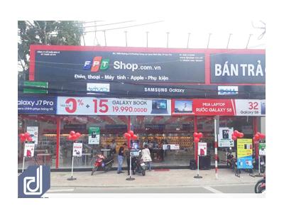 Công trình Cửa hàng công nghệ FPT Shop Cần Thơ