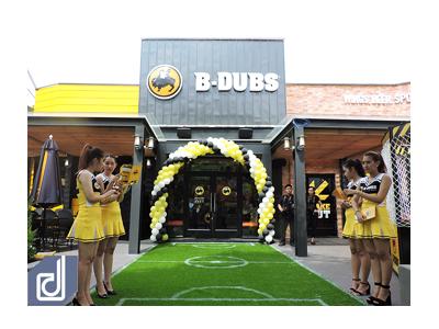 Công trình nhà hàng B-DUBS Thảo Điền - Quận 2