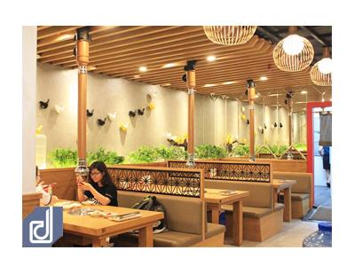 Công trình nhà hàng Mr. Park - The Garden Mall