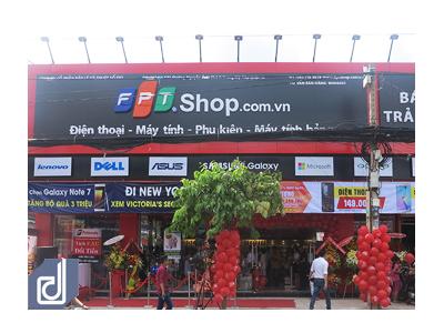 Dự án Thi công nội thất Cửa hàng công nghệ FPT Shop Nguyễn Ảnh Thủ