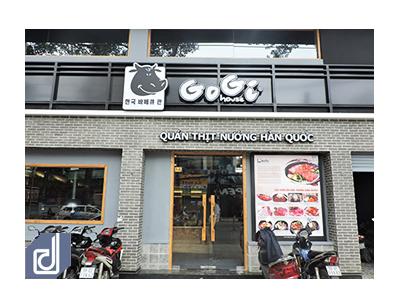 Công trình Nhà hàng Gogi House - Nguyễn Tri Phương