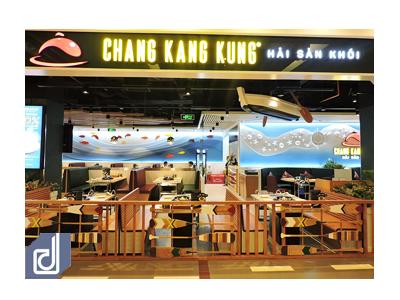 Công trình nhà hàng hải sản khói Chang Kang Kung - Aeon Mall Tân Phú