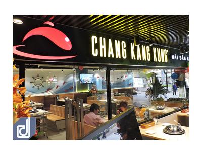 Công trình nhà hàng hải sản khói Chang Kang Kung - The Garden Mall