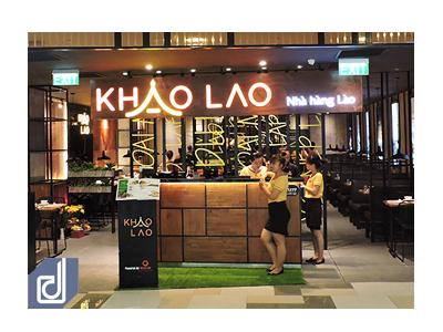 Công trình trọn gói - Nội thất nhà hàng Khao Lao Vivo City